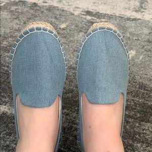 Asos denim espadrille shoes. Sz 9.5